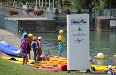Le kayak, une activité proposée au Parc des eaux vives