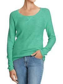 Casual lightweight sweater. Old Navy.