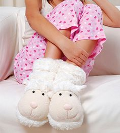 Sheep slippers! :-)