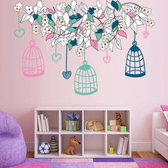 Teletubbies Smashed Wall Decal Graphic Sticker Home Decor Art Mural Kids J139