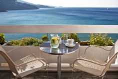 Enjoy the view from the balcony of your room! Outdoor Tables, Outdoor Decor, Outdoor Furniture, Balcony, Interior, Room, Home Decor, Terrace, Homemade Home Decor