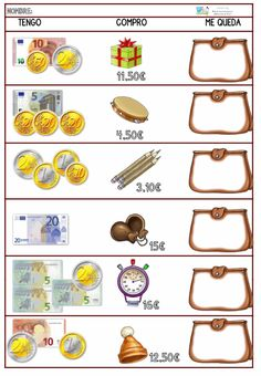 Deutsch Als Zweitsprache Vorschule – Rebel Without Applause Shape Tracing Worksheets, Money Worksheets, Learn Spanish Online, Primary Maths, Third Grade Math, Learning Italian, Math For Kids, Math Lessons, Teaching Math