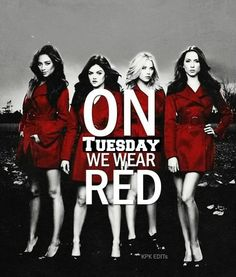 Two can keep a secret if one of them is dead #PLL #Love #PrettyLittleLiars ❤️