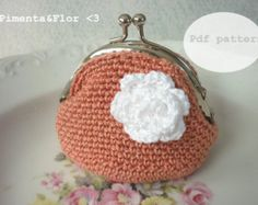 Items similar to blue warm cozy crochet coin purse on Etsy