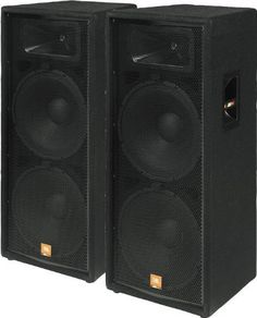 JBL JRX125 Dual 15 Inch 2 Way Speaker Cabinet 500 Watt Continuous ...