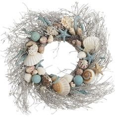 Coastal Shells Wreath | Pier 1 Imports More