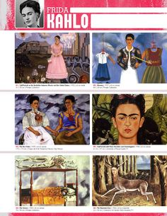 The smARTteacher Resource: FRIDA KAHLO (Artist Binder Notes)