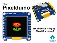 Pixelduino - The Arduino with an awesome OLED display!'s video poster