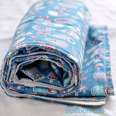 DIY Baby-Decke aus Bio-Baumwolle selber nähen / Sweing Organic Baby Blanket / Organic Toddler Blanket / Bio-Stoffe / Organic Cotton Fabric / Nähen / Sewing / @Monaluna - Hedgies   stoffbotin.de