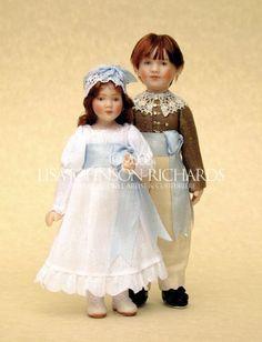 Lisa Johnson-Richards, Miniature Doll Artist & Couturiere.