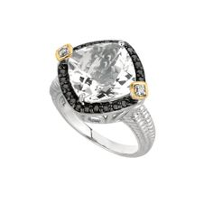 New Sterling Silver Engagement Rings -- Under $800 (Really!): 2. FROM PHILLIP GAVRIEL . . .