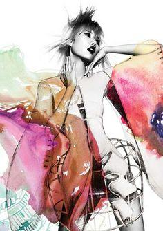 Craig Smith fashion illustration
