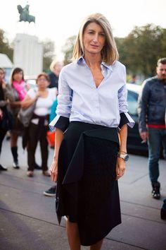 Sarah Rutson. Paris Fashion Week Street Style, Spring 2014
