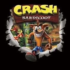Crash Bandicoot PS1 Cover -Remake-