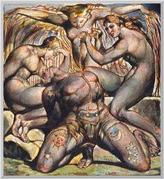 William Blake:  London-Büyüdü biteviye günden güne,  Parıldayan bir elma oldu dalında,  Hasmım da farkına vardı,  Benim elmamdı, biliyordu,   Kutup yıldızının şavkının perdelendiği bir gece,  Girdi bahçeme ve elmamı yedi,  Sabah olduğunda gördüm ki,  Hasmım ağacın altında yatıyordu sereserpe.