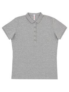GREY POLO #SUN68 #SS17 #woman #polo #tshirt #grey #elegance