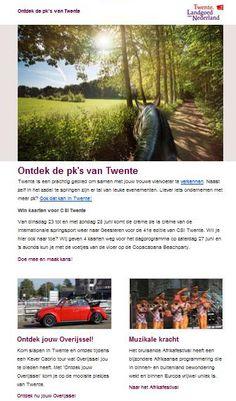 Nieuwsbrief Beleef Twente (consumenten)