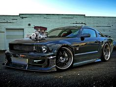 Supercharged Saleen Mustang | Flickr - Photo Sharing!
