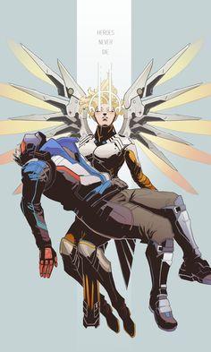 Mercy-(Overwatch)-Overwatch-Blizzard-фэндомы-3430906.jpeg (Imagen JPEG, 811 × 1351 píxeles)