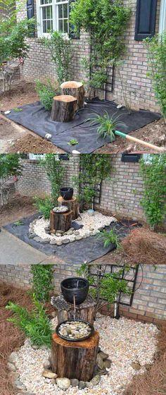 Ingeniosas ideas para transformar troncos en objetos decorativos