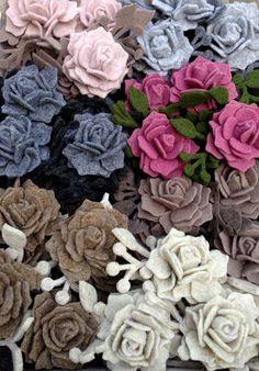 Tutorial per realizzare la Rosa di feltro della Fioraia Pazza
