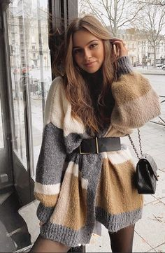 March 07 2020 at fashion-inspo Cute Casual Outfits, Winter Fashion Outfits, Look Fashion, Stylish Outfits, Autumn Fashion, Fashion Clothes, Summer Outfits, Fall Winter Outfits, Dresses In Winter