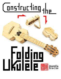 Picture of Constructing the Laser-cut folding ukulele