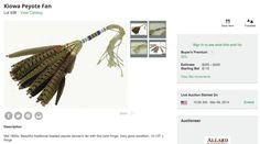 Estimate$225 – $450 Starting Bid$110 https://www.liveauctioneers.com/item/24388805_kiowa-peyote-fan