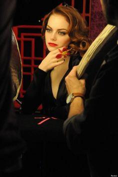 Emma Stone - Revlon's Autumn/Winter campaign