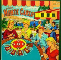 Monte Carlo - Bally (1963) Art by ?