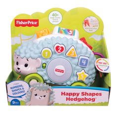 Buy Fisher-Price Linkimals Happy Shapes Hedgehog from our Activity Toys range at John Lewis & Partners. Fisher Price, Pull Toy, Gross Motor Skills, Activity Toys, Play To Learn, Early Learning, Educational Toys, More Fun, How To Introduce Yourself