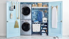 Laundry Room | Clear Dryer Vents  - CountryLiving.com