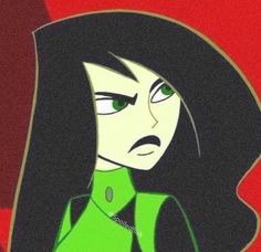 Shego the Kim Possible animated series cartoon character. Cartoon Icons, Cartoon Drawings, Cartoon Art, Cartoon Character Tattoos, Cartoon Characters, Character Art, Kim Possible Shego, Kim Possible Characters, 2000s Cartoons