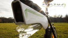 Accesorio para ciclistas llena una botella con agua gracias a la energía solar - FayerWayer