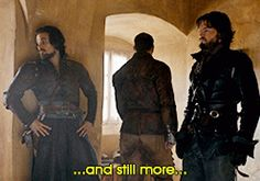 And still more... The Musketeers 2x09 Aramis Treville Athos