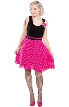 Don't Eyeball Me Dress from Sourpuss Clothing (X-Large)