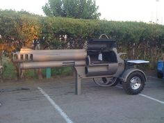 that's one awesome grill #guns