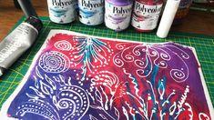 Am testat pictura cu aplicator - acrilice pe panza cu marker acrilic Acrylic Tutorials, Marker Art, Painting & Drawing, Markers, Canvas, Drawings, Paper, Tips, Tela