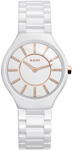 Rado Watch True Thinline Sm #bezel-fixed #bracelet-strap-ceramic #brand-rado #case-material-ceramic #case-width-30mm #delivery-timescale-call-us #dial-colour-white #gender-ladies #luxury #movement-quartz-battery #official-stockist-for-rado-watches #packaging-rado-watch-packaging #style-dress #subcat-true #supplier-model-no-r27958702 #warranty-rado-official-2-year-guarantee #water-resistant-30m