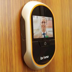 Whether you're home or not, you'll now be able to check who's been at your doorstep with the Motion Activated Peephole Viewer by Brinno.