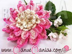 Flor Bromélia | Manu e Manias