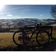 Isla Short's ride - breathtaking view..