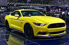 Salon de l'auto de Genève 2014 - The sixth generation of the Ford Mustang debuted on December 5, 2013 with same-day media events in Dearborn, Michigan, Los Angeles, California, New York City, New York,Barcelona, Spain, Shanghai, China, andSydney, Australia.[2] The 2015 Mustang marks the 50th anniversary of continuous Mustang production, which began in March 1964 in advance of the debut of the original Mustangat the 1964 New York World's Fair on April 17, 1964 in Flushing, Queens. - Ford…