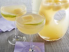 Pear and Elderflower Champagne Punch