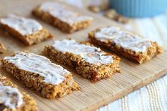 Sweet Potato Breakfast Bars with Vanilla Coconut Butter Icing
