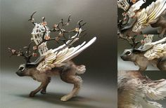 creaturesfromel CUSTOM ORDER - Beast of Burden. $265.00, via Etsy.