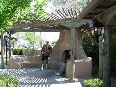 Backyard kiva