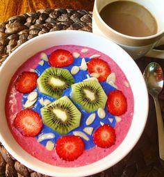 Acai Bowl, Serving Bowls, Cereal, Breakfast, Tableware, Food, Acai Berry Bowl, Morning Coffee, Dinnerware