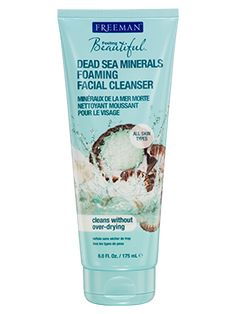 Dead Sea Minerals Foaming Facial Cleanser from Freeman | Find more cruelty-free beauty @Quirkist |
