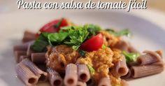3 salsas de tomate para acompañar los platos de pasta